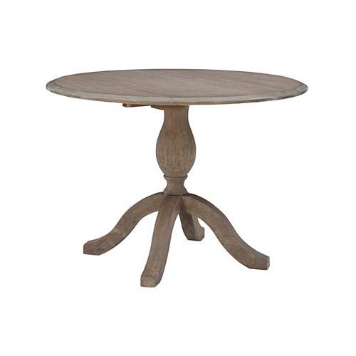 Corbett Drop Leaf Table GreyWash