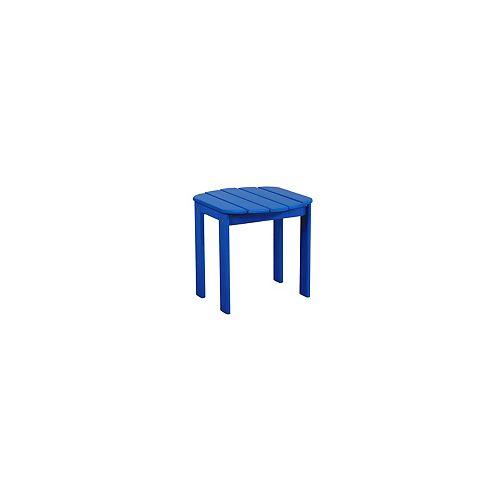 Westport Blue Adirondack End Table