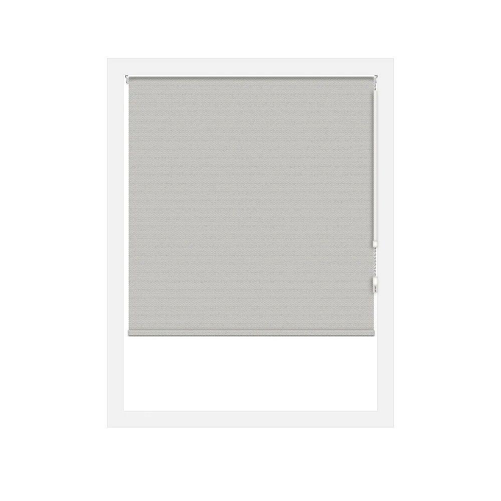 Off Cut Shades Toiles à Rouleau Occultant Rustica Taupe - 89 x 60