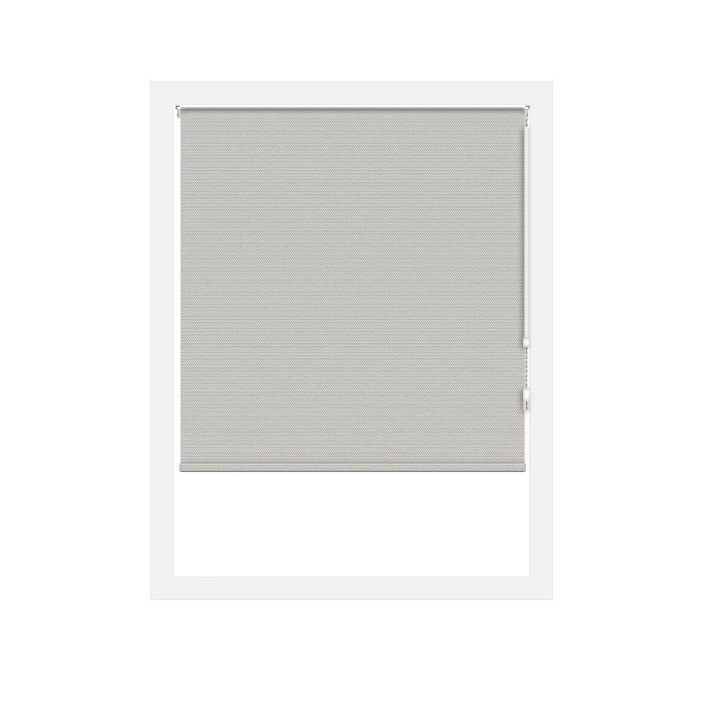 Off Cut Shades Taupe Rustica Blackout Roller Shade - 90 x 60