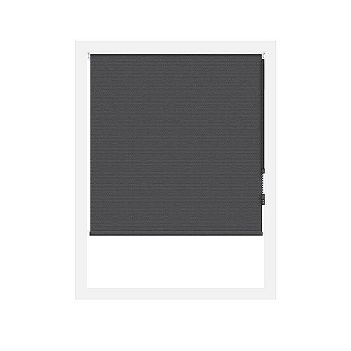 Toiles à Rouleau Occultant Rustica Noir - 24 x 60