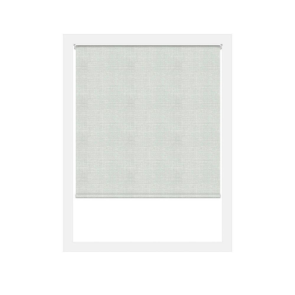 Off Cut Shades Toiles à Rouleau Zéro Gravité Privée Lima Blanc - 48 x 100