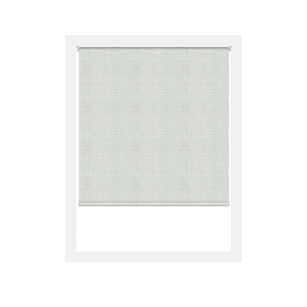 Off Cut Shades White Lima Privacy Zero Gravity Roller Shade - 55 x 100