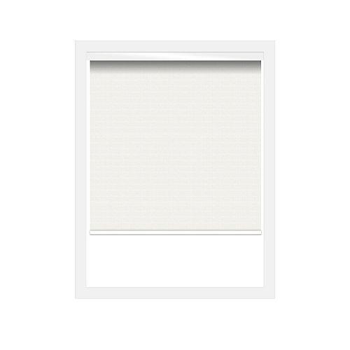 Écrans soleil 3% Zero Gravity avec cantonnière carrée en blanc - 19 x 60