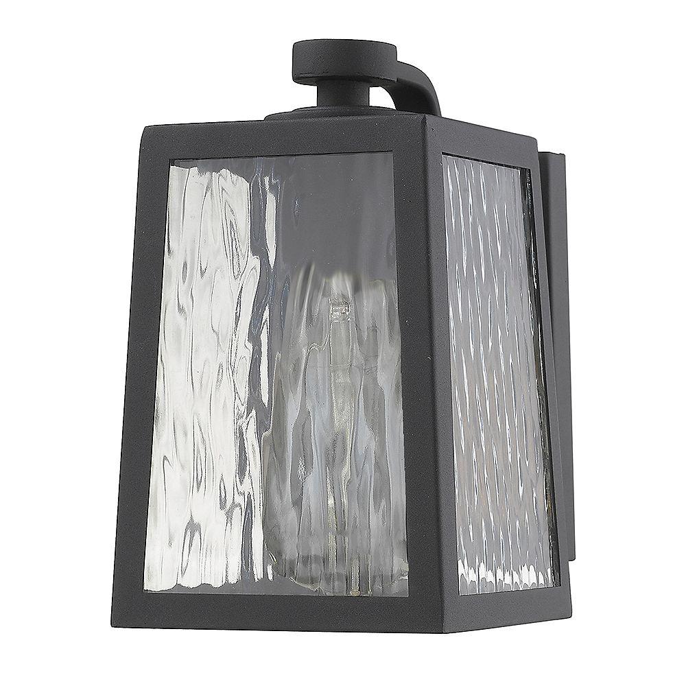 Acclaim Lighting Hirche Applique mural extérieur noir à 1 ampoule, format 60W