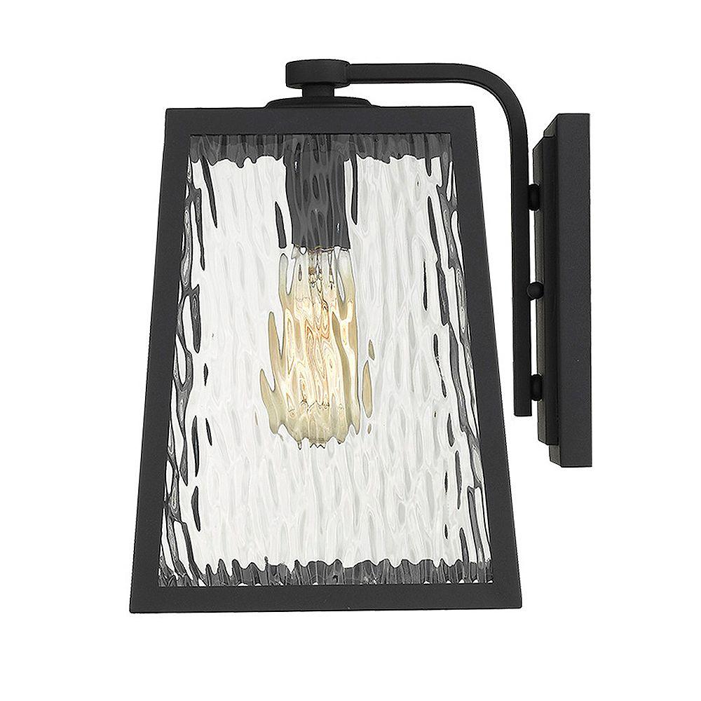 Acclaim Lighting Hirche 100W 1-Light Outdoor Wall Mount in Black finish