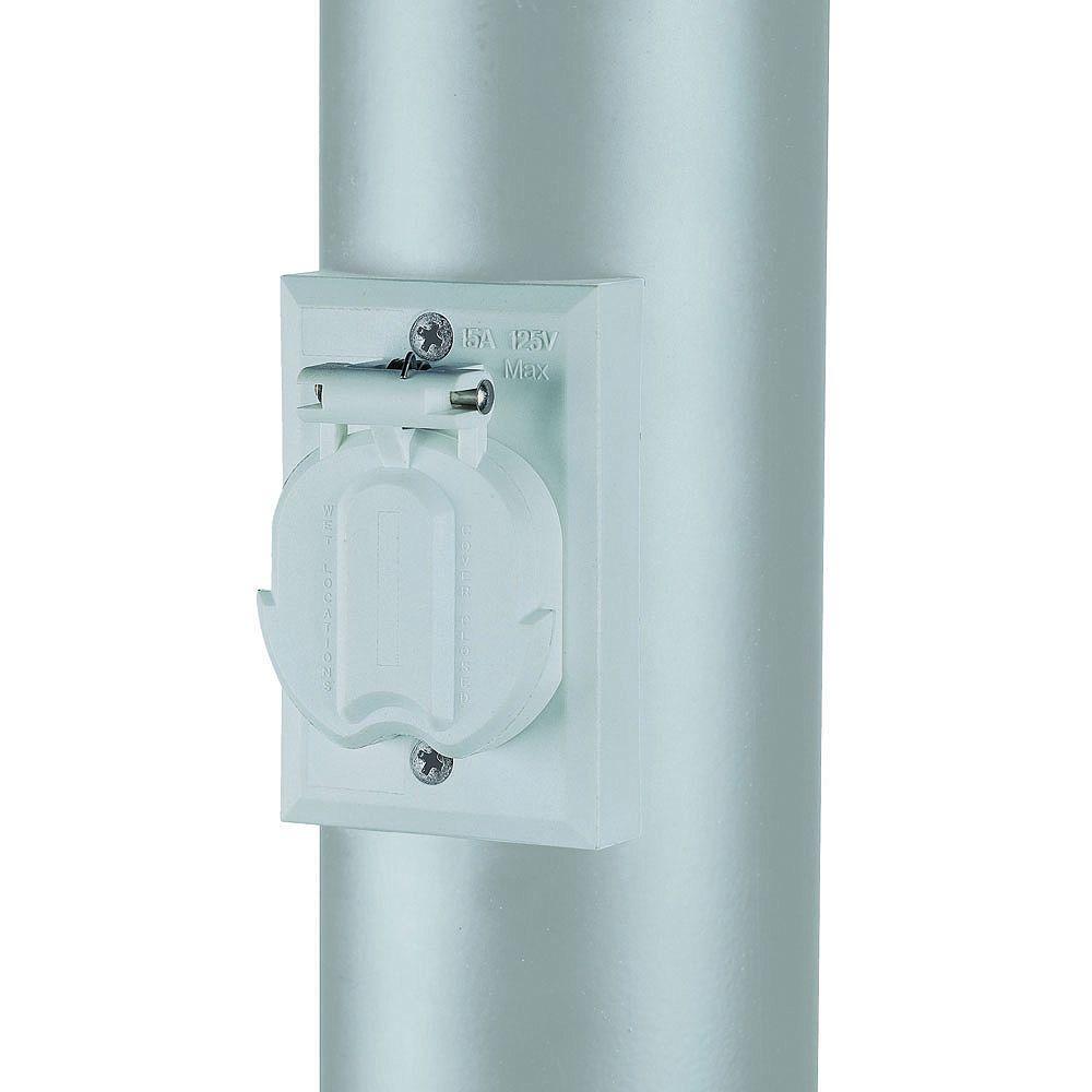 Acclaim Lighting Blanc Prise électrique pratique pour Lanterne de Poteau
