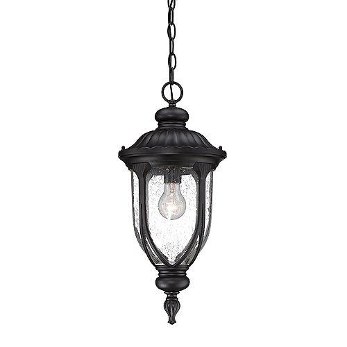 Acclaim Lighting Laurens 100W 1-Light Black outdoor Hanging Lantern