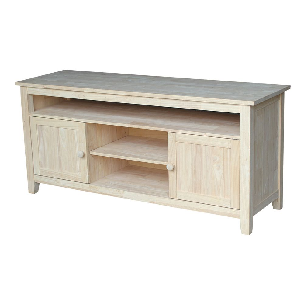International Concepts Unfinished 57 in. TV Stand