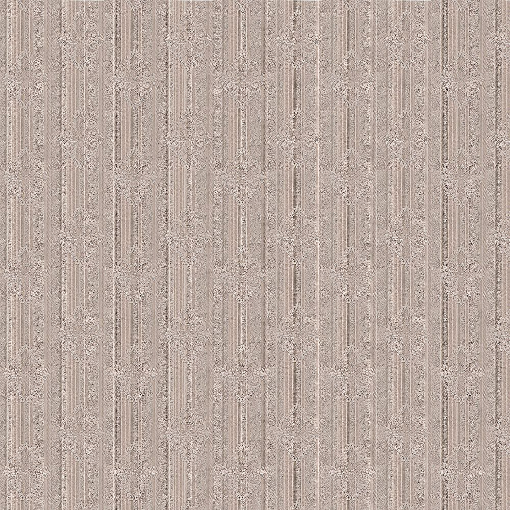 Dundee Deco Falkirk McGowen 35.5 sq. ft. Peel and Stick Sepia Beige Stripes and Damask Wallpaper