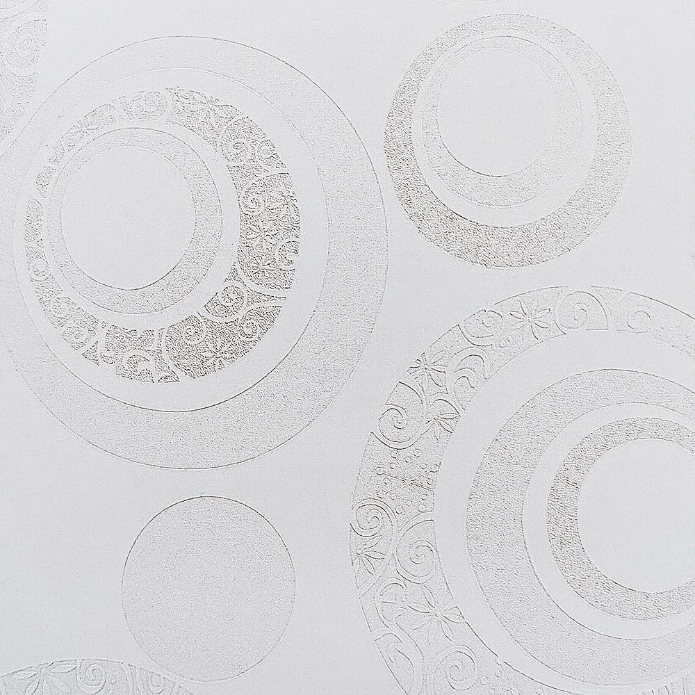 Dundee Deco Papier peint auto-adhésif, Falkirk McGowen, 35.5 pi², cercles beige perle