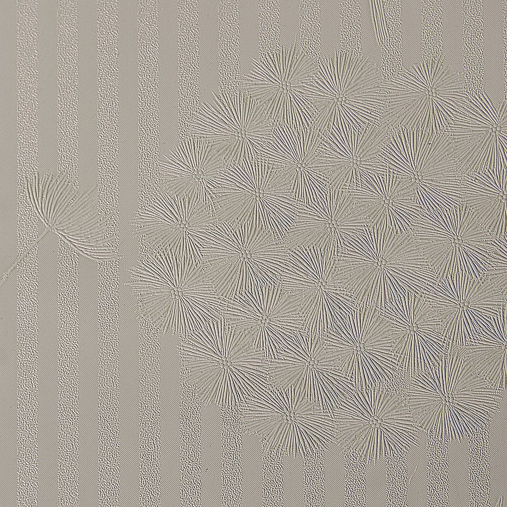 Dundee Deco Falkirk McGowen 35.5 sq. ft. Peel and Stick Sparkling Sepia Stripes and Bloom Wallpaper