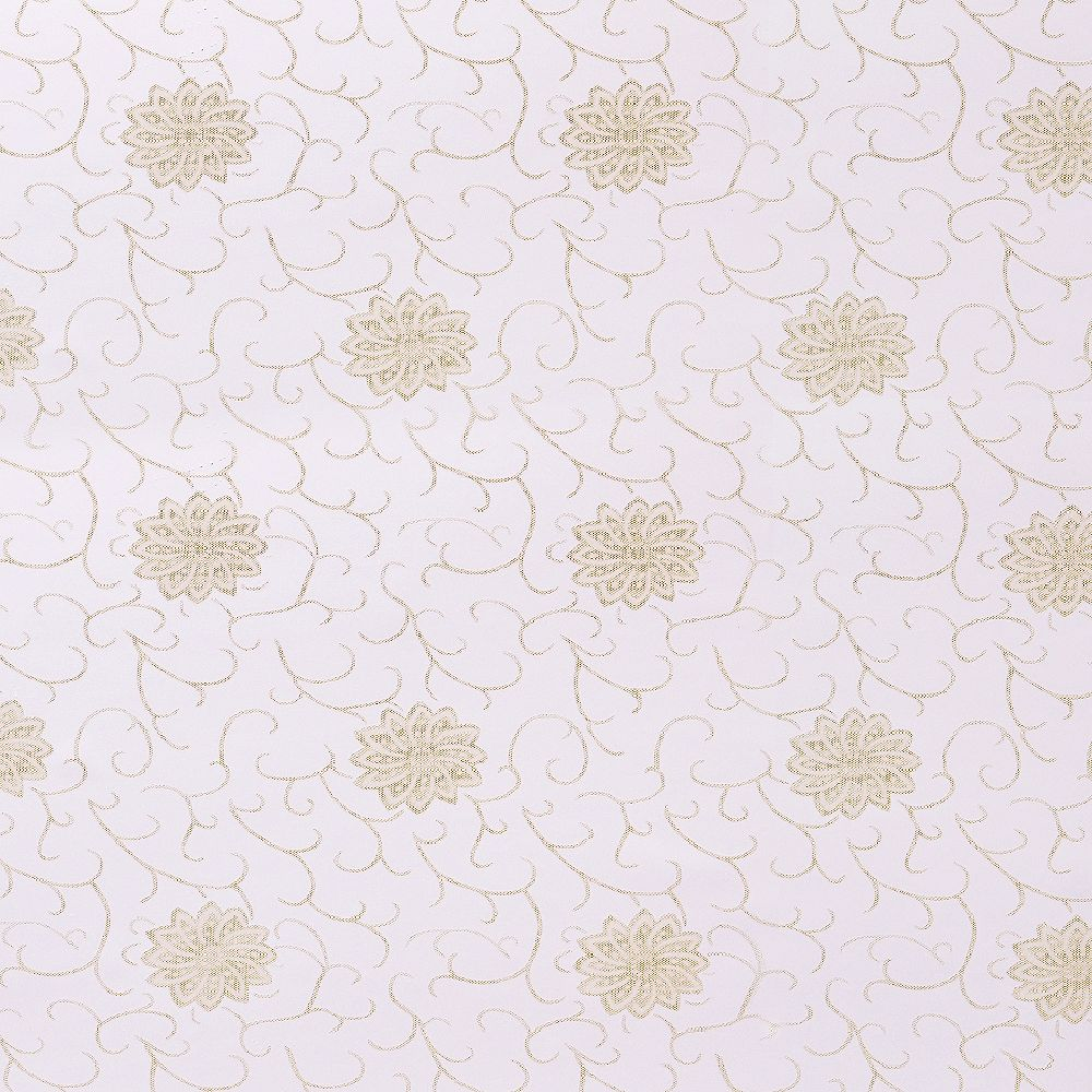 Dundee Deco Falkirk McGowen 35.5 sq. ft. Peel and Stick Sepia Brown Shapes. Vines Wallpaper
