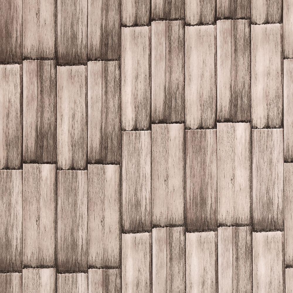Dundee Deco Papier peint auto-adhésif, Falkirk McGowen, 26.6 pi², planches gris