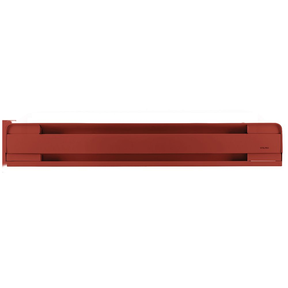 STELPRO Brava electric baseboard red 750W