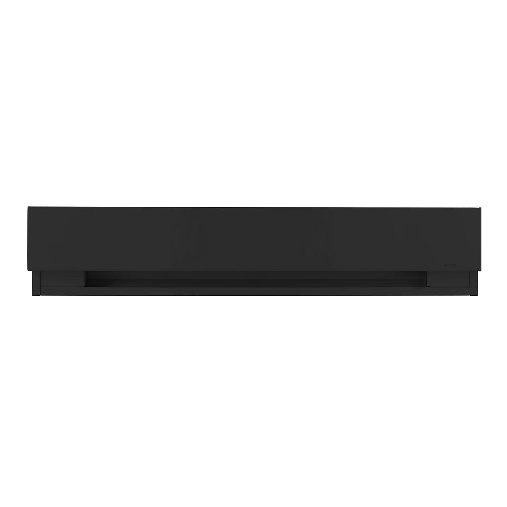 STELPRO Prima High-end Compact Baseboard 1000W Black
