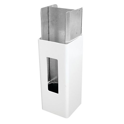 Vinyl Fence post stiffener (insert) - Aluminum 5x5x106''