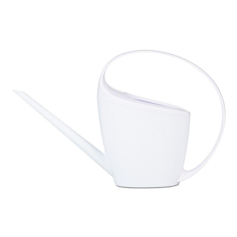 Les Entreprises Marsolais Arrosoir Loop en plastique blanc 1.4l