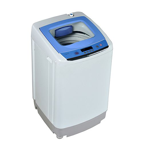 Compact 0.9 CU FT Portable Load Washer - Grey