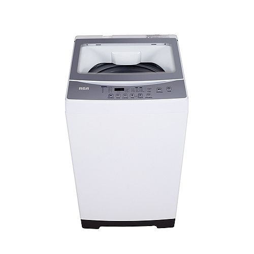 Compact 1.6 CU FT Portable Load Washer - Grey