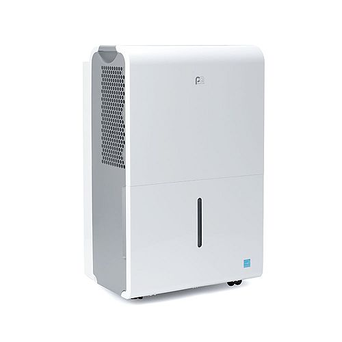 50 Pint Flat Panel Dehumidifier with Continious Drainage - ENERGY STAR
