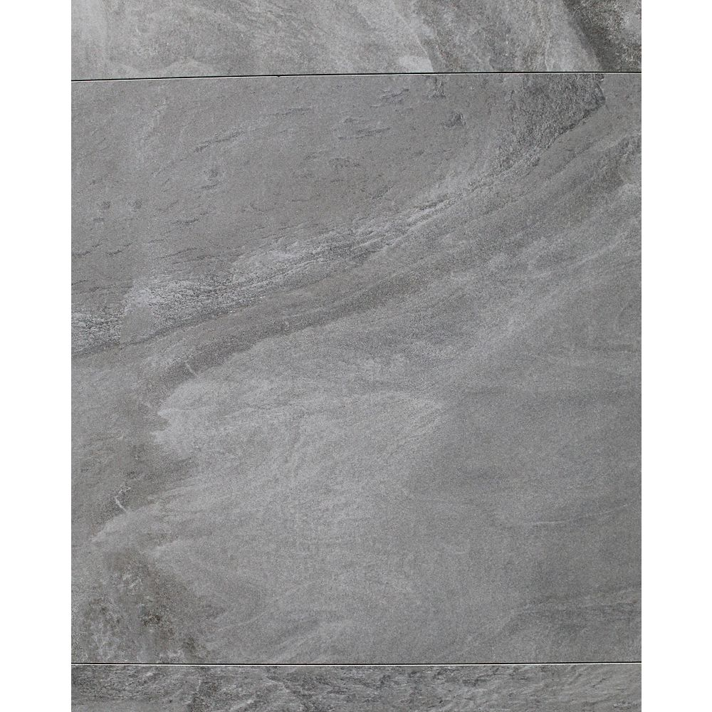 STI Horizon Antracite 24-inch x 24-inch Semi Polished Rectified Porcelain Tile (16 sq. ft / case)