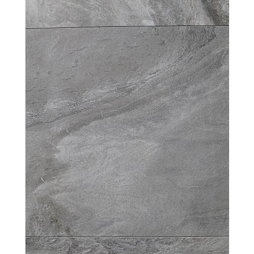 Horizon Antracite 24-inch x 24-inch Semi Polished Rectified Porcelain Tile (16 sq. ft / case)
