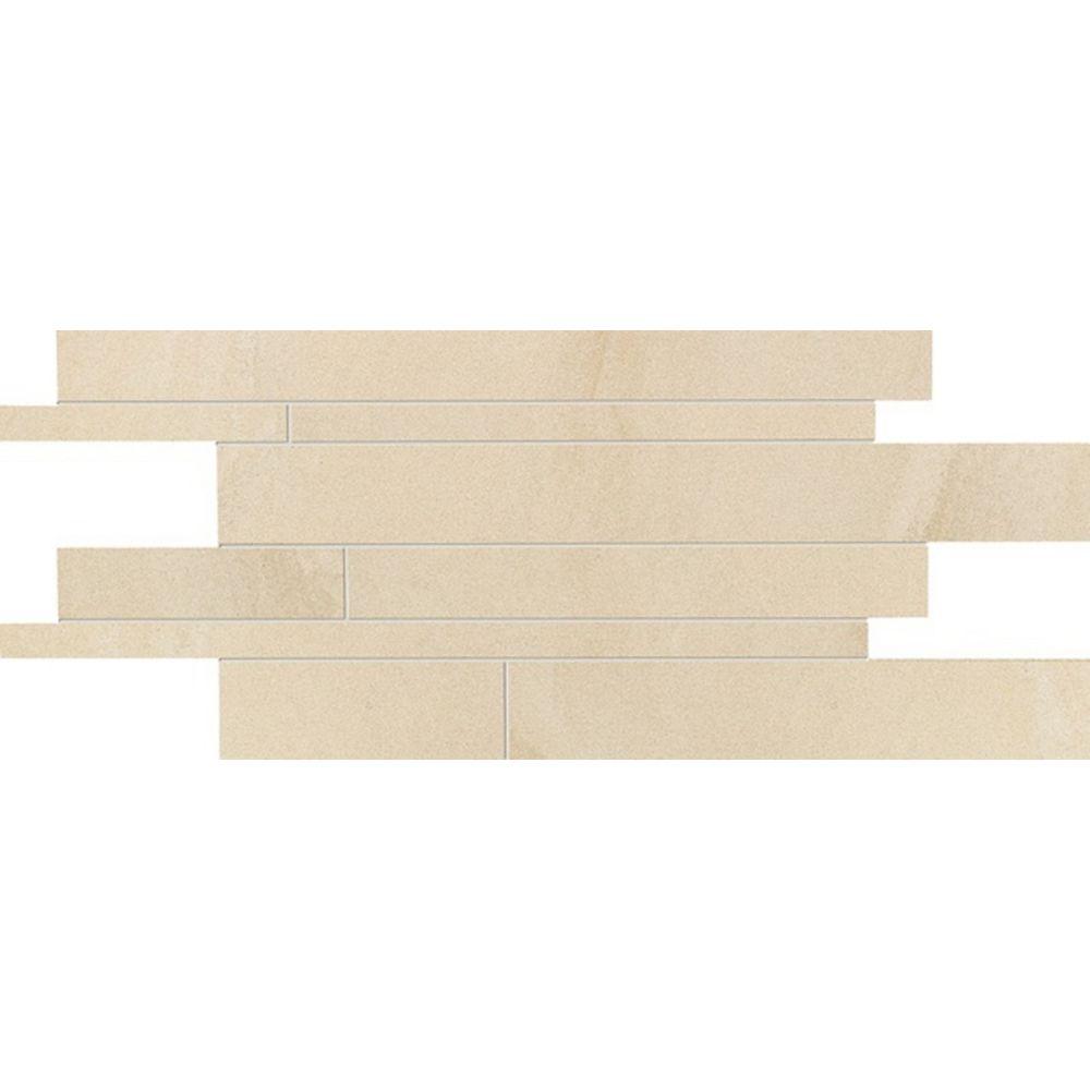 GENERIC/UNBRANDED Stone Project Doré 6- x 24-pouce entrecoupé de veines naturale porcelaine (12 pied carré / caisse)