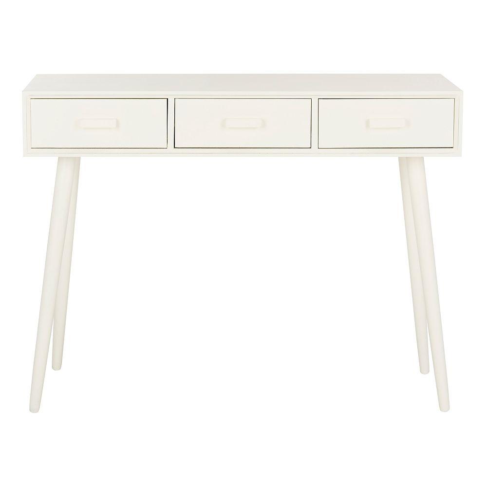 Safavieh Albus Table de Console en Blanc Antique