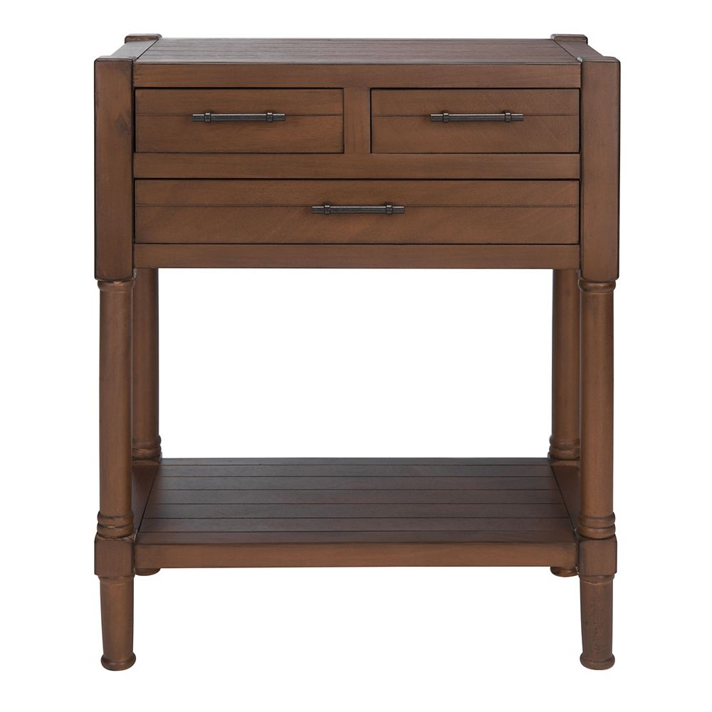 Safavieh Filbert Console Table in Brown