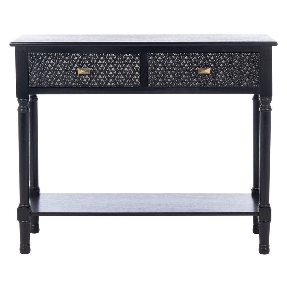Safavieh Halton Console Table in Black