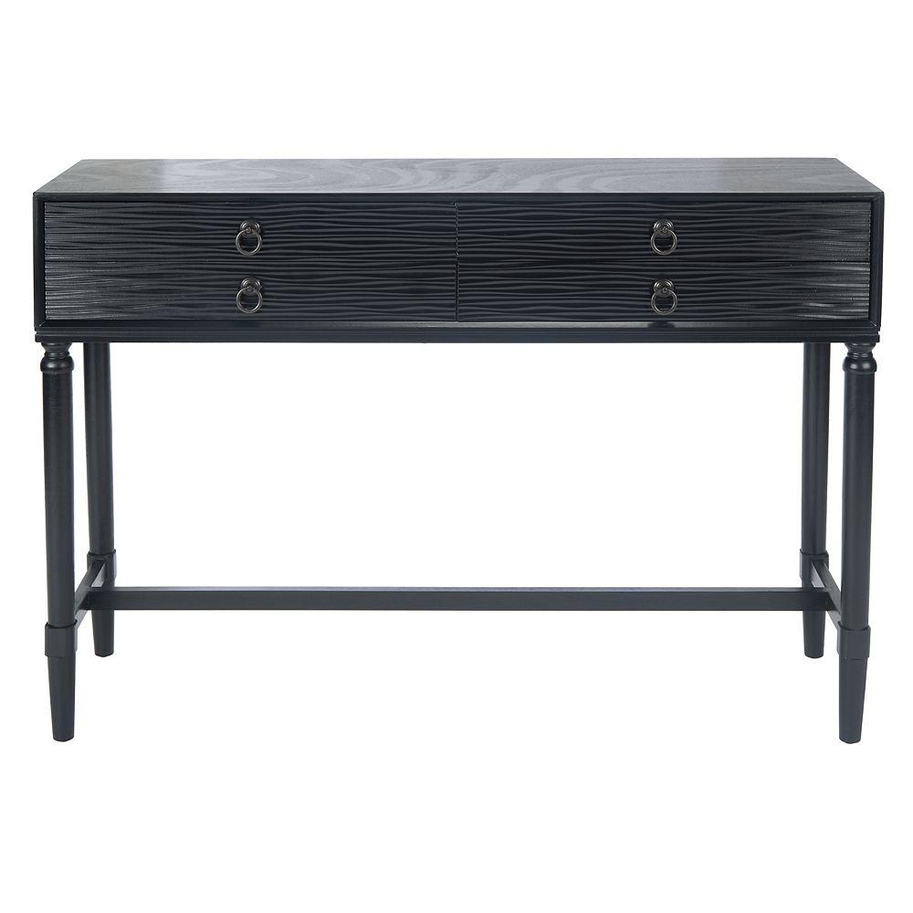 Safavieh Aliyah Console Table in Black
