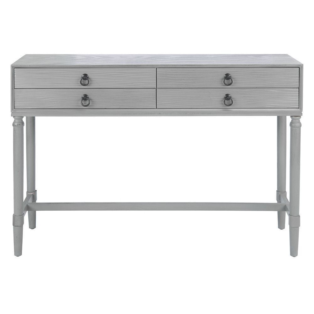 Safavieh Tia Console Table in Distressed Grey