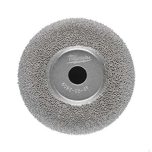 2-1/2 inch Flared Contour Low Speed Tire Buffing Wheel