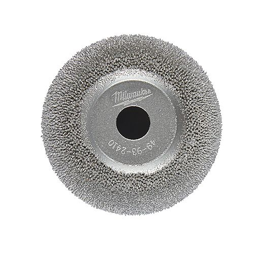 2 inch Flared Contour Low Speed Tire Buffing Wheel