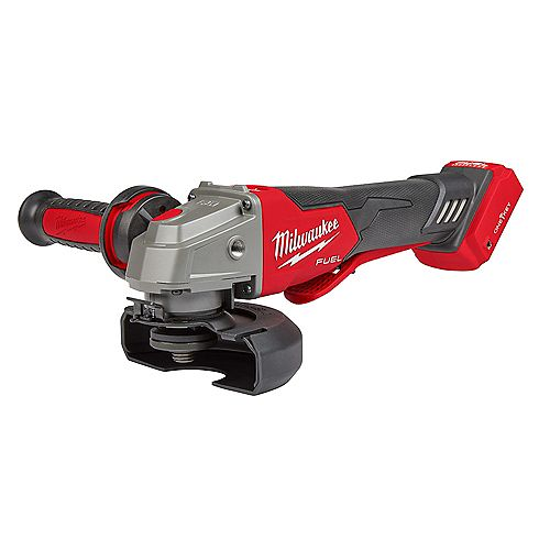 M18 FUEL 18V Li-Ion Brushless Cordless 4-1/2-in/5-in Braking Grinder W/ Paddle Switch (Tool-Only)