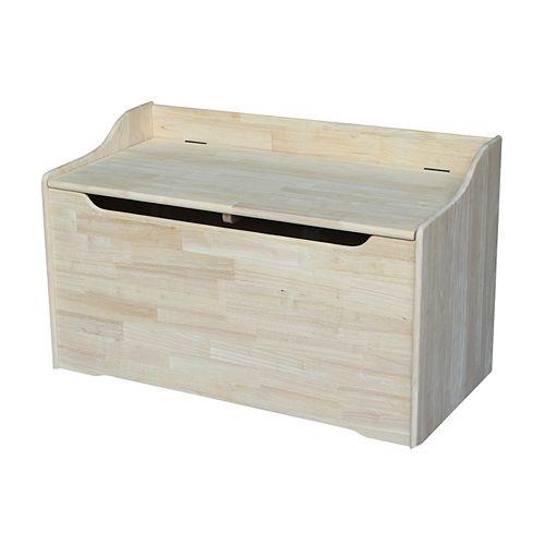 Boîte de rangement inachevée de 38 po