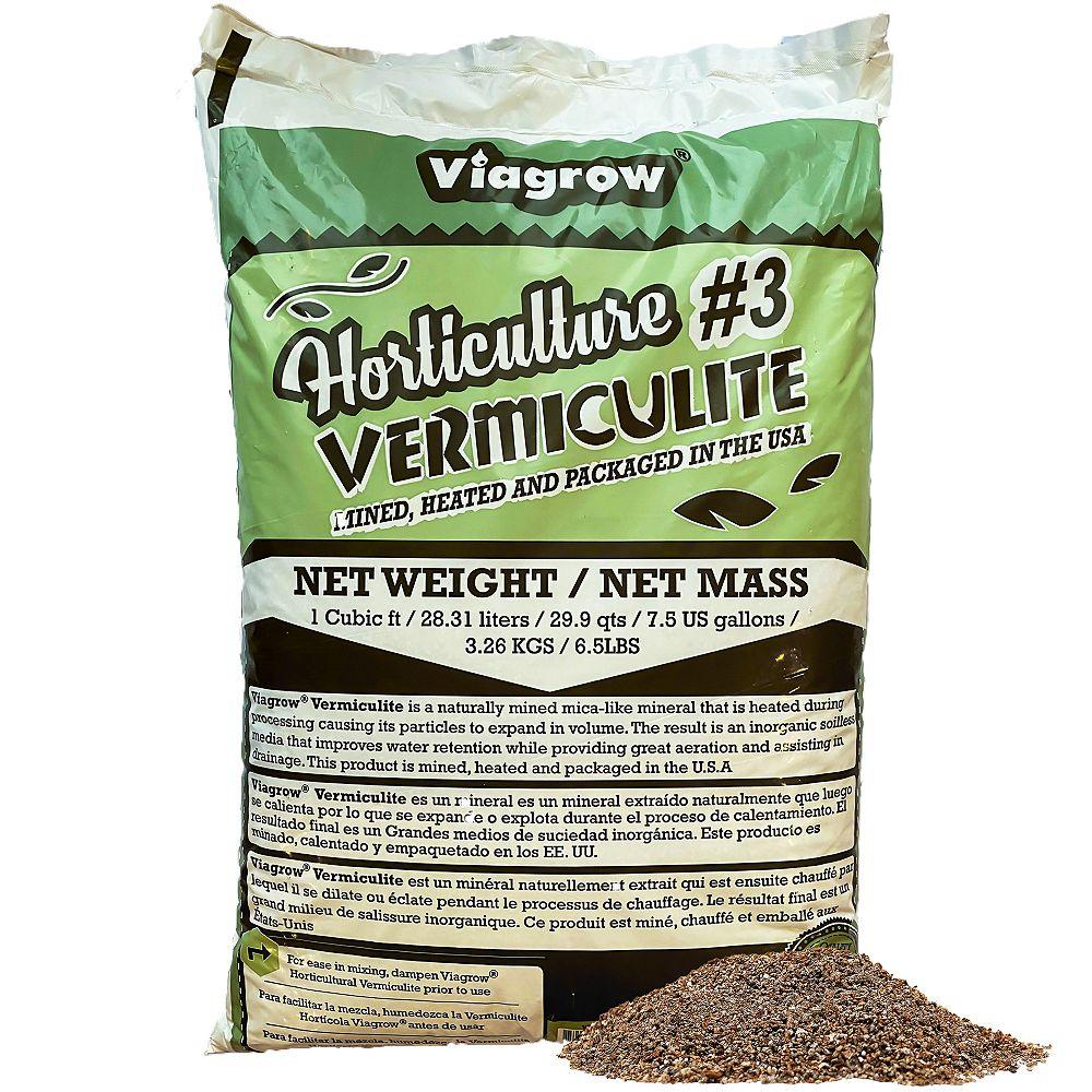 Viagrow Vermiculite de Viagrow, 1 pi3