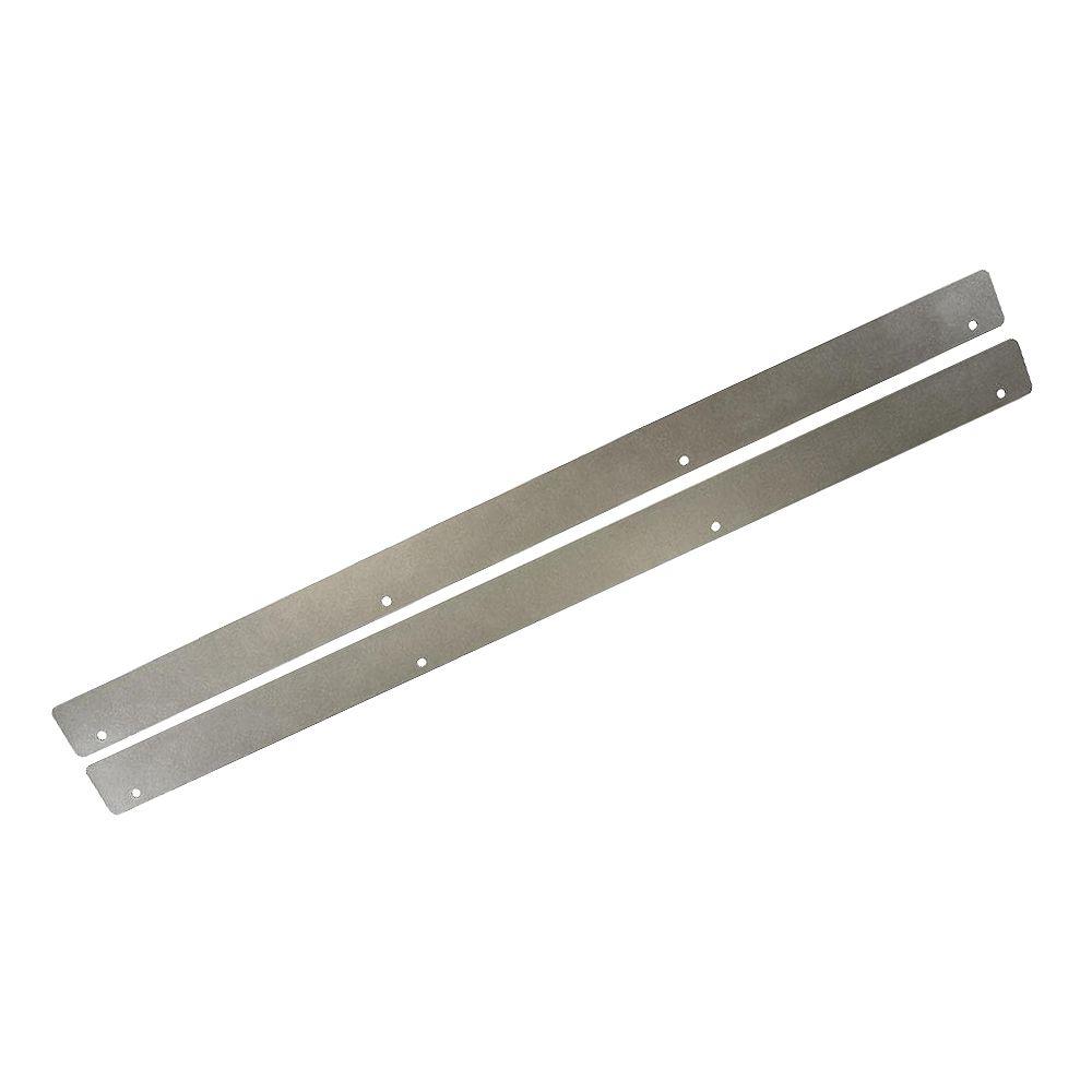 Thomasville NOUVEAU Écran thermique en aluminium 30 po. L, 1 3/4 po. de profondeur, 1/32 po. de largeur