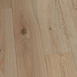 French Oak Crown 3/8 in T x 6-1/2 in W x Varying L. Eng. Click Hardwood Flooring (23.64 sq.ft./case)