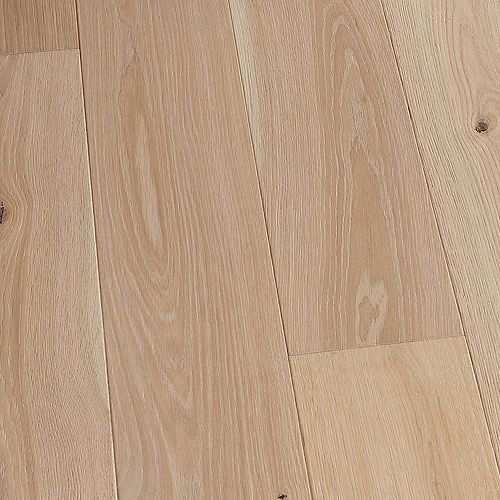 French Oak Marshalls 3/8 in T x 6-1/2 in W x Engineered Click Hardwood Flooring (23.64 sq.ft./case)