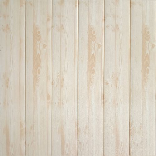 Dundee Deco Falkirk Jura II 28-inch x 28-inch Peel & Stick Decorative Wall Panel in Beige (5-Pack)