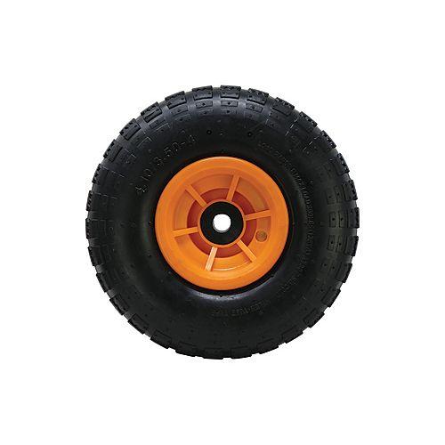 Wheel Rubber Orange Hub