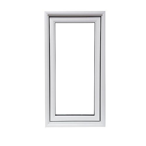 Fenêtre à battant blanche de 30 po x 60 po  fixe avec technologie Vertex3 et Energy Star