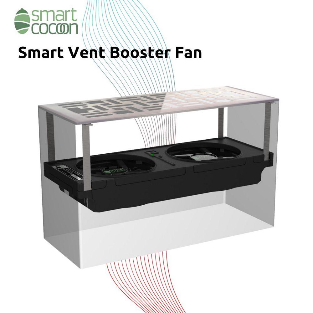 """SmartCocoon Smart Register Booster Fan 4""""x10"""""""