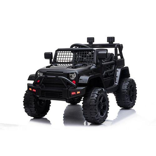 12V Northlander Ride-On Toy in Black
