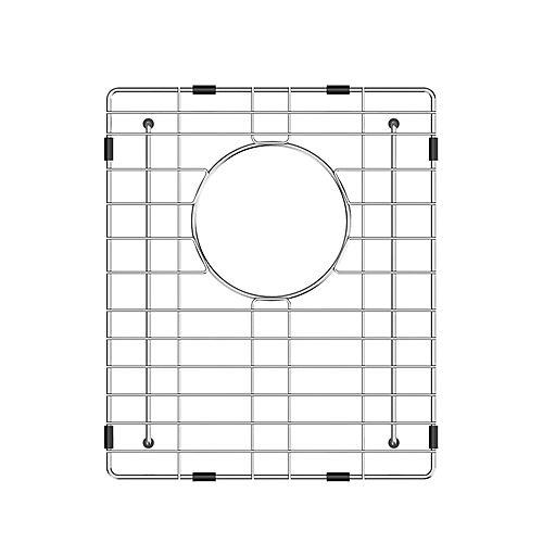 Grille de Fond en Acier Inoxydable (10 x 12 5/8 in 8/5 in) Pour 13 Undermount Cuve Simple Bar Sink