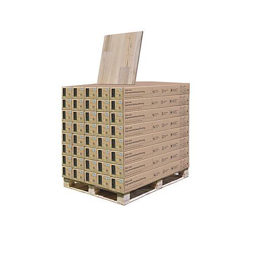 Maple Avila 3/8 in. T x 6-1/2 in. W x Engineered Click Hardwood Flooring (945.6 sq. ft. /pallet)