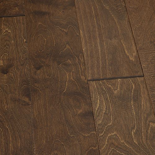 Birch Tomales 3/8 in T x 6.5 in W x Varying Length Eng. Click Hardwood Flooring (23.64  sq.ft./case)