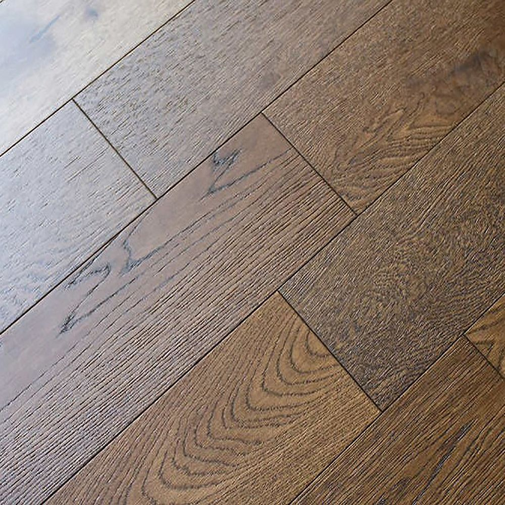 Juno Rivington Cocoa 1/2-inch T x 5-inch W x Varying L Eng. Hardwood Flooring (16.15 sq.ft./case)